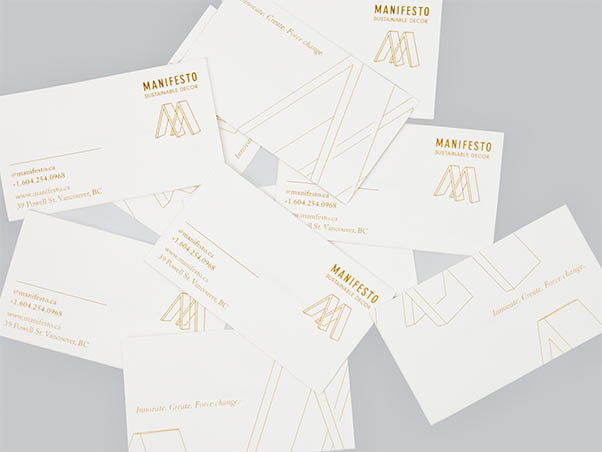 Manifesto Business Cards